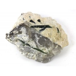 Green Tourmalinated Quartz
