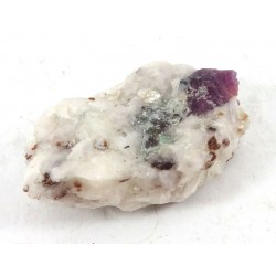 Ruby Crystal with Phlogopite and Mica