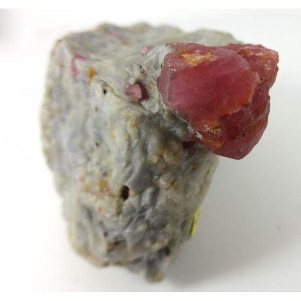Afghanistan Jegdalek Ruby Crystal Formation
