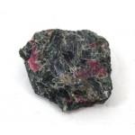 Bright Rubies in Actinolite