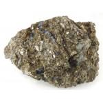 Grey Blue Sapphire Crystal Matrix