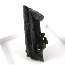 Green Sphene Crystal Specimen with Chlorite
