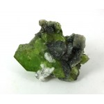 Green Sphene Crystal Titanite Cluster