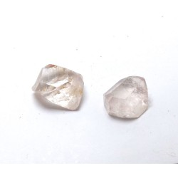 Clear Topaz Crystals x 2