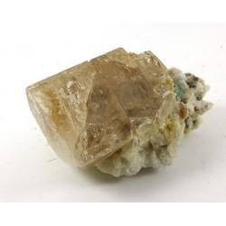 Topaz Crystal with Tourmaline