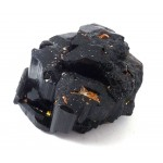 Black Tourmaline Shiny Multi Terminated Crystal Cluster
