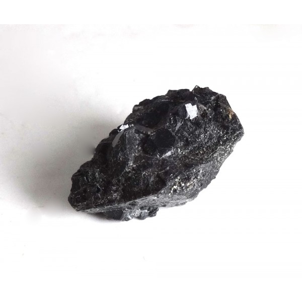 Black Tourmaline and Andradite Garnet Shape Crystals