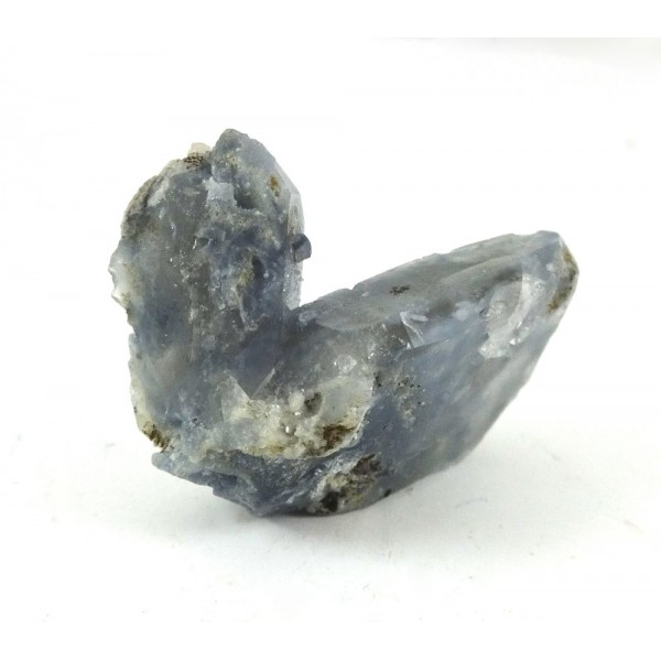 Twin Blue Tourmaline in Quartz