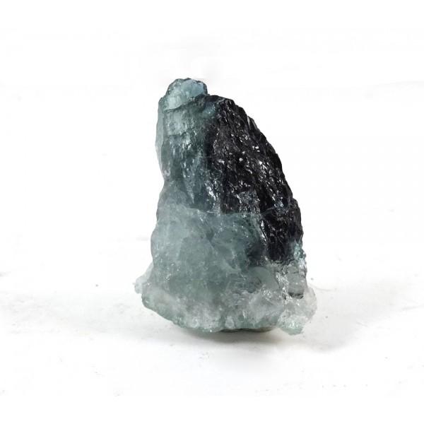Blue Tourmaline Crystal Formation