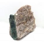 Blue Green Tourmaline Crystal within Matrix