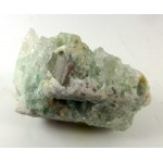 Green Tourmalinated Quartz Cluster