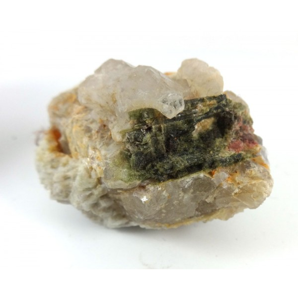 Green Tourmalinated Quartz Lepidolite Mica  Matrix