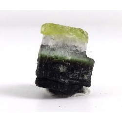 Bi Colour Staknala Tourmaline Crystal