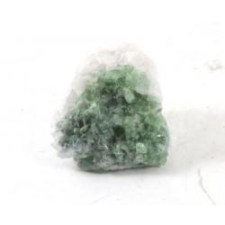 Green Multiple Tourmalines Quartz Matrix