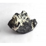 Black Tourmaline with Andradite Garnet Shape Crystals