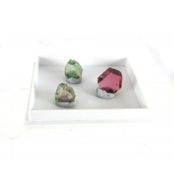 Tourmaline Crystal Collection pink Green Watermelon