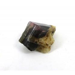 Pink Black Green Tourmaline Crystal