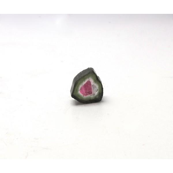 Watermelon Tourmaline Crystal Slice