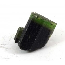 Colour Zoned Green Tourmaline Crystal Piece