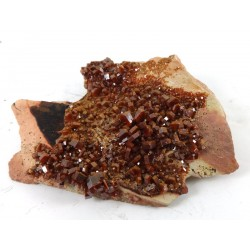 Vanadinite Crystals Cluster