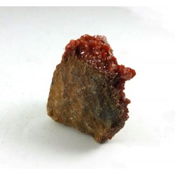 Upright Vanadinite Cluster