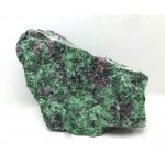 Ruby in Zoisite Crystal Chunk