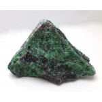 Ruby with Zoisite Crystal Piece
