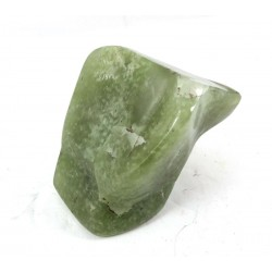 Polished Green Grossular Garnet Freeform