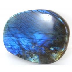 Blue Labradorite Freeform Palmstone