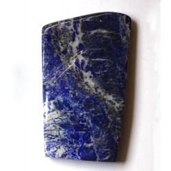 Polished Lapis Lazuli with Single Crystals Freeform
