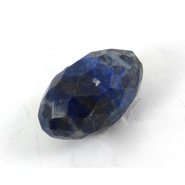 Lapis Lazuli Faceted Pebble Shape