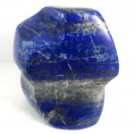 Carved Lapis Lazuli Upright Freeform