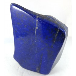 Carved Lapis Lazuli Form