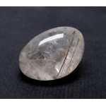 Rutilated Quartz Pebble Lens