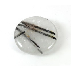 Tourmalinated Quartz Palm