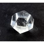 Carved Clear Quartz Dodecahedron
