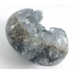 Celestite Crystal Heart