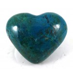 Chrysocolla Heart