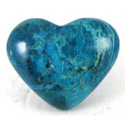 Chunky Chrysocolla Heart