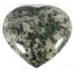 Chunky Polished Large Fuschite Heart