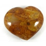 Golden Healer Quartz Heart