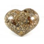 Chunky Polished Jasper Heart