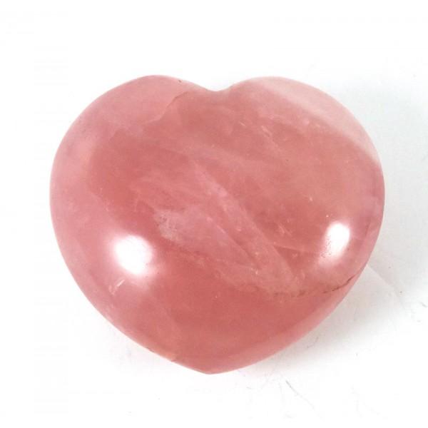 Nice Colour Rose Quartz Heart