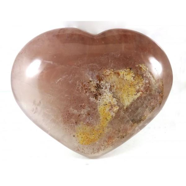 Lavender Lilac Quartz Heart