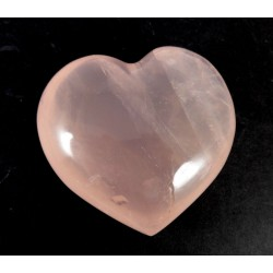 Nice Colour Pretty Clear Rose Quartz Heart