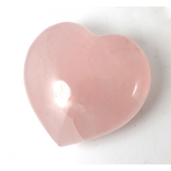 Chunky Rose Quartz Heart