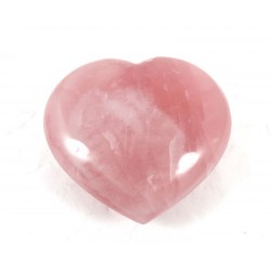 Pink Rose Quartz Heart