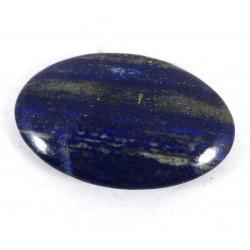 Dark Flatter Lapis Lazuli Palm Stone