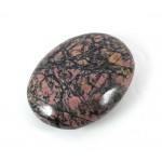 Polished Rhodonite Patterned Palmstone