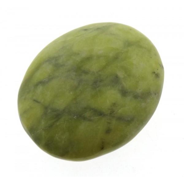 Green Serpentine Palmstone
